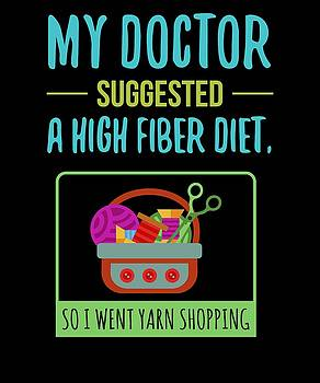 My Doctor Suggested A High Fiber Diet So I Went yarn Shopping by Kaylin Watchorn