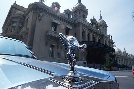 My Rolls Royce in Monte Carlo by Carl Purcell