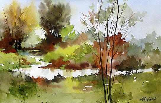 Mystic Stream by Art Scholz