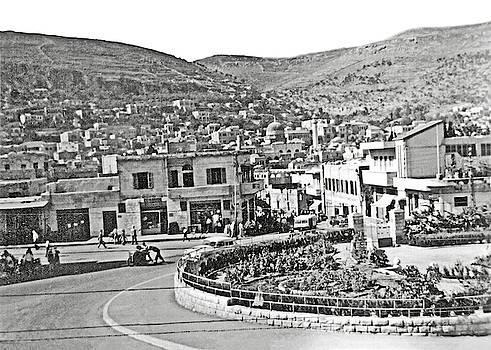Nablus City Center by Munir Alawi