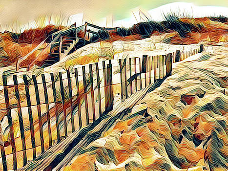Nags Head Sand by Robert Meyerson