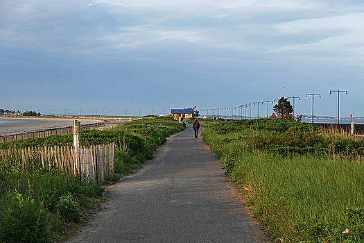 Toby McGuire - Nahant  Beach Walking Path and Bath house Nahant MA