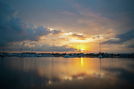Naples Bay Sunrise by Joey Waves
