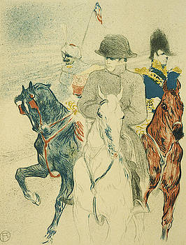 Napoleon Bonapart  - 1895 - Free Library of Philadelphia - Lithograph by Henri de Toulouse-Lautrec
