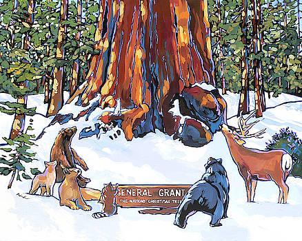 Nation's Christmas Tree by Nadi Spencer