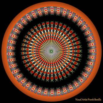 Native American Sun Two by Visual Artist Frank Bonilla