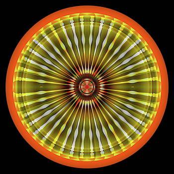 Native American Sun by Visual Artist Frank Bonilla