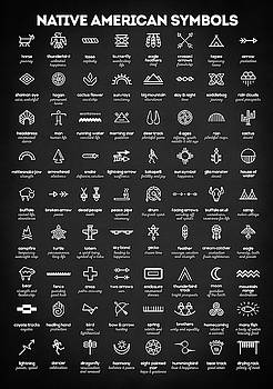 Native American Symbols by Zapista Zapista