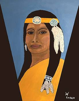 Native Woman by Will Logan