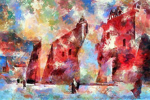 Nativity Church 1933 by Munir Alawi