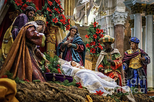 Nativity Scene Cadiz Cathedral by Pablo Avanzini