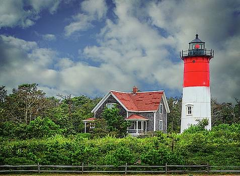 Nauset Lighthouse by Mary Timman