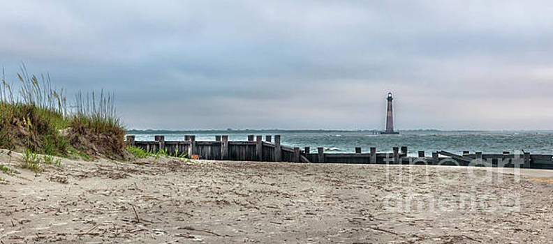 Nautical Shore - Morris Island Lighthouse by Dale Powell