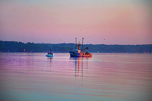 Joann Vitali - Nautical sunrise - Casco Bay, Maine