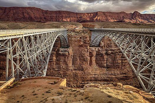 Navajo Bridge by Constance Puttkemery