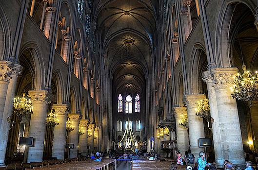 RicardMN Photography - Nave of Notre Dame de Paris before the fire of 2019