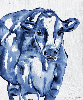 Navy Cow by Jean Plout