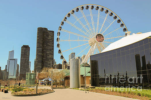 Navy Pier Chicago by Veronica Batterson