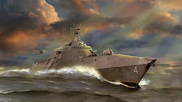 James Vaughan - Navy - USS Coronado