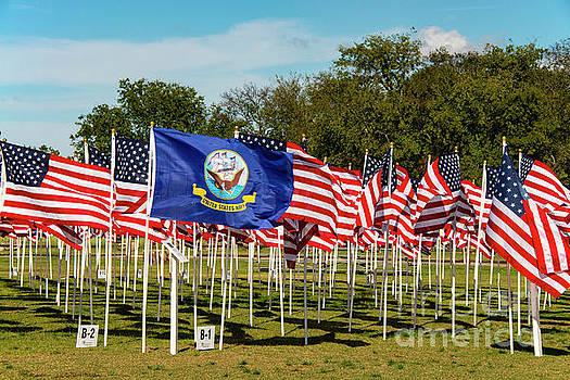 Bob Phillips - Navy Vets Honor Flags