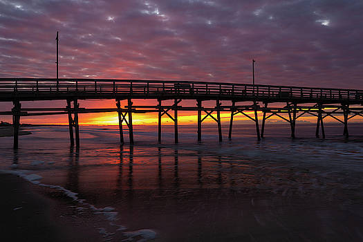 NC Pier Sunrise by Nick Noble