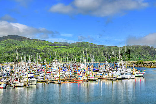 Neah Bay Marina by Spencer McDonald