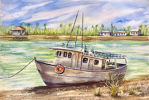 Near the harbour 3 by Katerina Kovatcheva