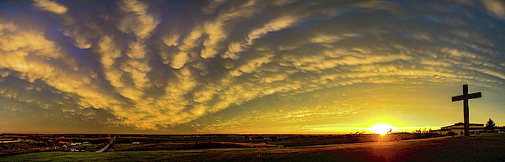 Dale Kaminski - Nebraska Mammatus Sunset 012