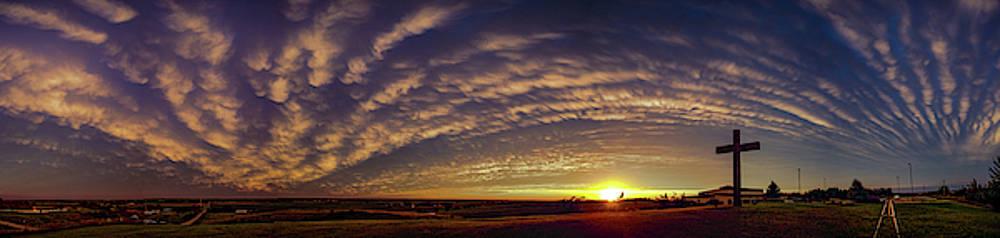 Dale Kaminski - Nebraska Mammatus Sunset 013