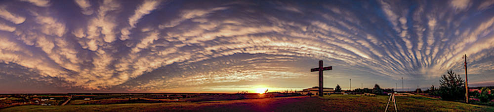 Dale Kaminski - Nebraska Mammatus Sunset 014