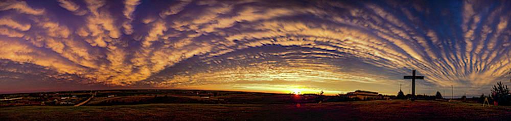 Dale Kaminski - Nebraska Mammatus Sunset 015