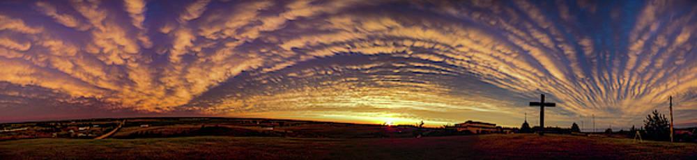 Dale Kaminski - Nebraska Mammatus Sunset 016