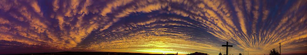 Dale Kaminski - Nebraska Mammatus Sunset 018