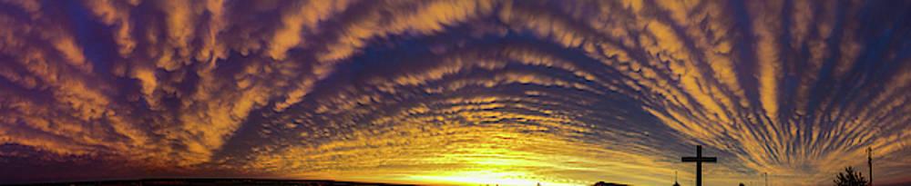Dale Kaminski - Nebraska Mammatus Sunset 019