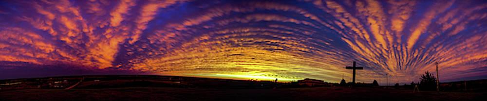 Dale Kaminski - Nebraska Mammatus Sunset 021