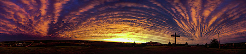 Dale Kaminski - Nebraska Mammatus Sunset 022