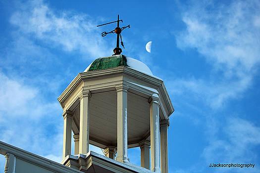N.E.Grammar bell tower by Jonathan Jackson Coe