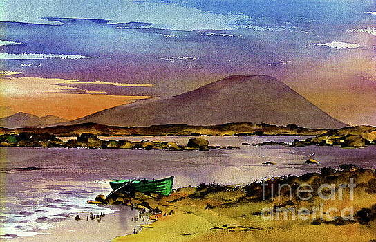 Val Byrne - Neiphin Sunset, Mayo.