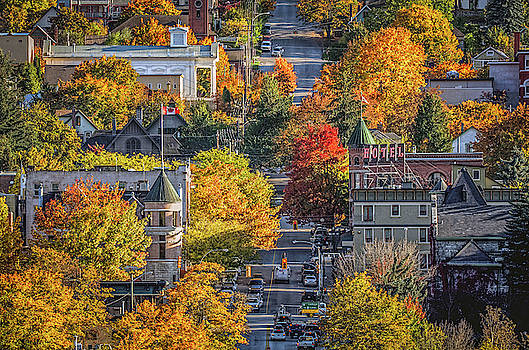 Nelson BC in the Fall Two by Joy McAdams