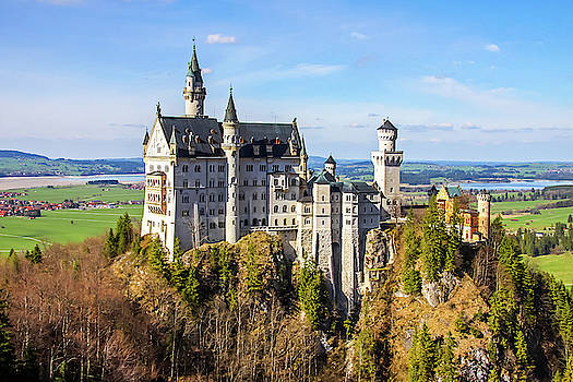 Neuschwanstein Castle by Dawn Richards