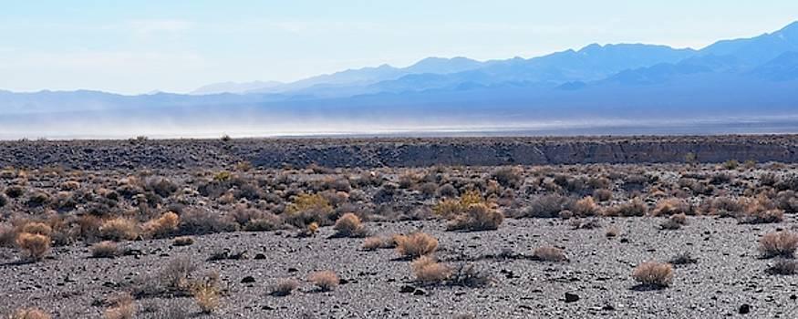 Nevada Dust Storm by Allan Van Gasbeck