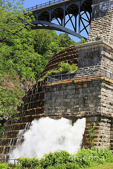 New Croton Dam in Croton on Hudson New York by Louise Heusinkveld