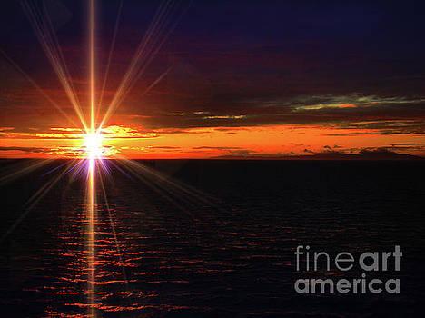 New England Atlantic Sunset by Al Bourassa