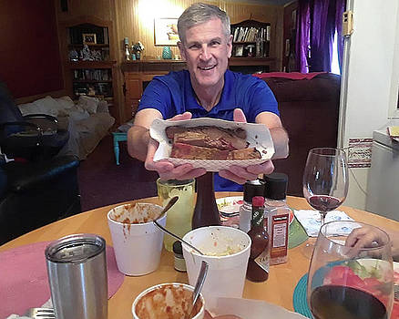 New Englander discovers BBQ by Warren Gale