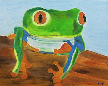 Emerald Frog Prince by Meryl Goudey