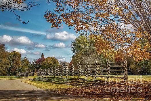 New Harmony, Indiana by Warrena J Barnerd