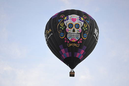 New Mexico True Sugar Skull Balloon by Jasmin's Treasures