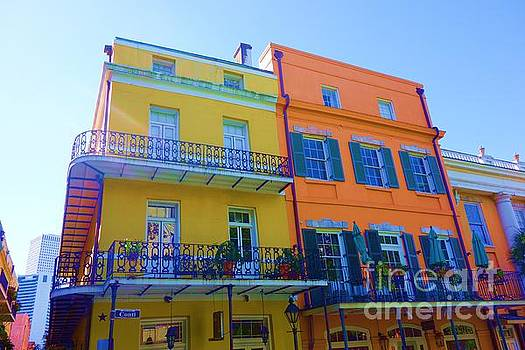 Susan Carella - New Orleans Balconies in the French Quarter