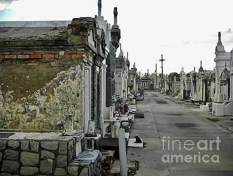 New Orleans Cemetery by Rosanne Licciardi