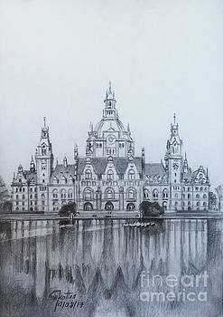 New Town Hall - Hannover - Germany by Mohammad Hayssam Kattaa